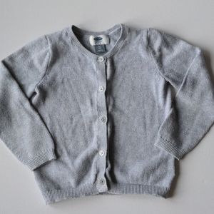 Old Navy Grey Cardigan Sweater* 4T